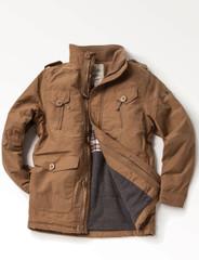 Men's Cotton Artic Jacket (3048) Camel