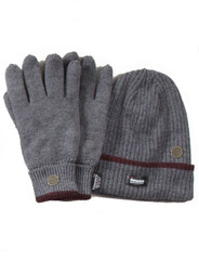 Men's Hat Gloves set (3021 Grey)