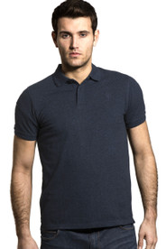 Men's Cotton Polo Shirt (3025) Denim Melange