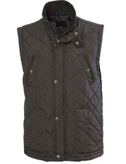 Mens Green Gilet (3033), a neat fit for wearing light clothing underneath.
