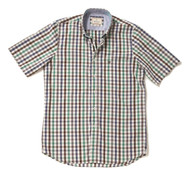 Men's Short Sleeve Cotton Shirt (2296) Pebble Beach