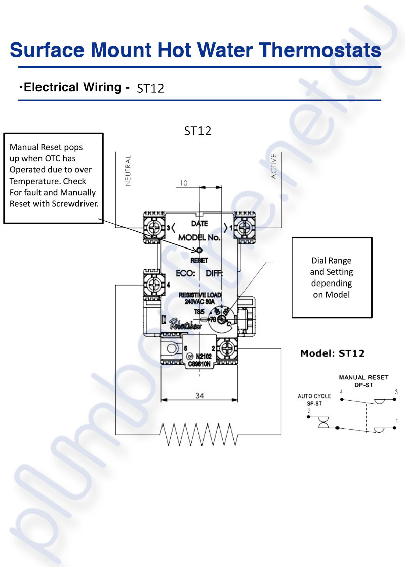 Attic fan thermostat wiring