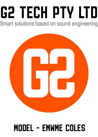 G2TECH Coles Metering Package External Enclosure Model - EMWME COLES