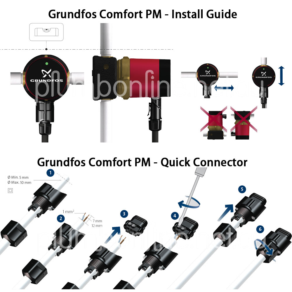 new grundfos comfort up15 14b pm domestic solar circulator. Black Bedroom Furniture Sets. Home Design Ideas