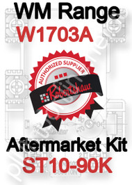 Robertshaw ST 10-90K Aftermarket kit for WM Range W1703A