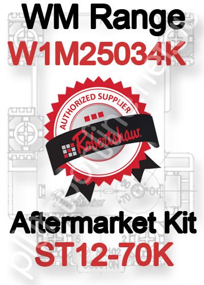Robertshaw ST 12-70K Aftermarket kit for WM Range W1M25034K