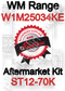 Robertshaw ST 12-70K Aftermarket kit for WM Range W1M25034KE