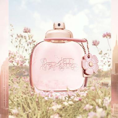 Coach New York Floral Eau De Parfum Spray For Women 1.7oz