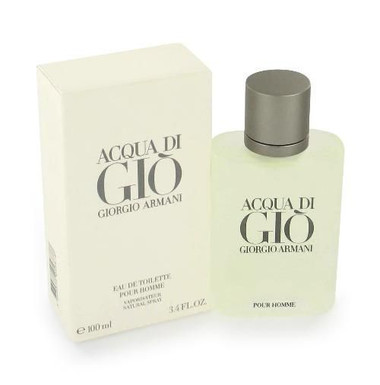 Acqua Di Gio by Giorgio Armani 1.0oz Eau De Toilette Spray Men