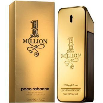 1 Million by Paco Rabanne 3.4oz Eau De Toilette Spray Men UNBOX