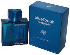 Blue Touch by Franck Olivier 3.4oz Eau De Toilette Spray Men