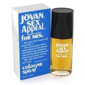 Jovan Sex Appeal by Coty 3.0oz Eau De Cologne Spray Men