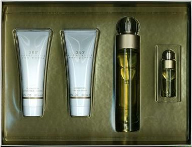 360 by Perry Ellis 4pc Gift Set Women