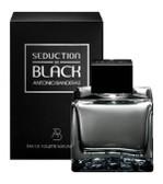 Seduction In Black by Antonio Banderas 3.4oz Eau De Toilette Spray Men