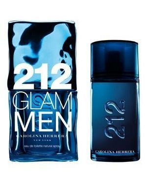 212 Glam Men by Carolina Herrera 3.4oz Eau De Toilette Spray Men