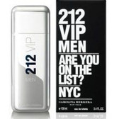 212 VIP by Carolina Herrera Eau De Toilette Spray For Men 3.4oz