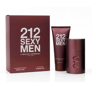 212 Sexy by Carolina Herrera 3.4oz Gift Set Men