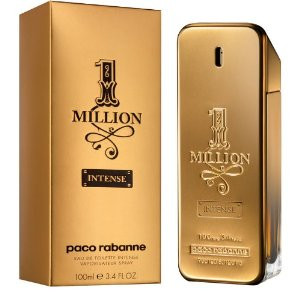 1 Million Intense by Paco Rabanne 1.7oz Eau De Toilette Spray Men