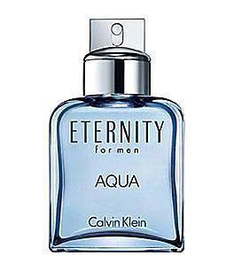 Eternity Aqua by Calvin Klein 3.4oz Eau De Toilette Spray Men