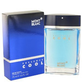 Presence Cool by Mont Blanc 2.5oz Eau De Toilette Spray Men