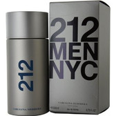 212 By Carolina Herrera 6.7oz Men Eau De Toilette Spray