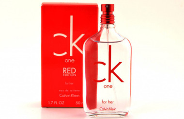 CK One Red Edition For Her by Calvin Klein 1.7oz EDT Women