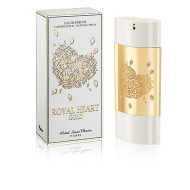 Royal Heart Gold by Kristel Saint Martin Eau De Parfum Spray For Women 3.0oz