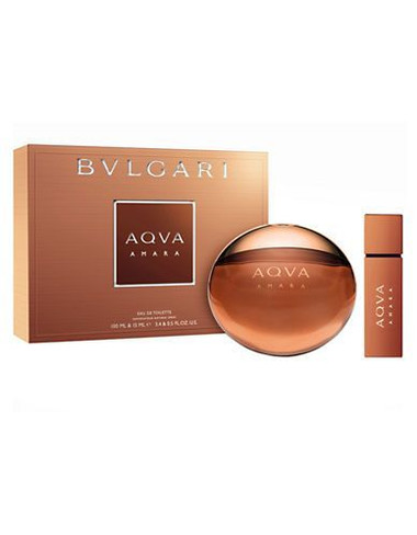 Aqva Amara by Bvlgari 3.4oz Gift Set Men