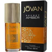 Jovan Secret Amber by Coty 3.0oz For Women