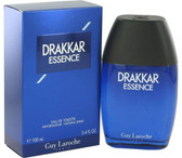 Drakkar Essence By Guy Lorache Eau De Toilette Spray For Men 1.7oz