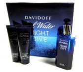 Cool Water Night Dive by Davidoff 4.2oz Set For Men