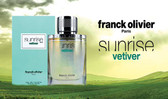 Sunrise Vetiver by Franck Olivier Eau De Toilette Spray For Men 2.5oz
