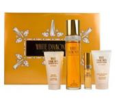 White Diamonds By Elizabeth Taylor 4pc Perfume Gift Set Women