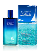 Cool Water Man Summer Seas By Davidoff 4.2oz Cologne Spray For Men