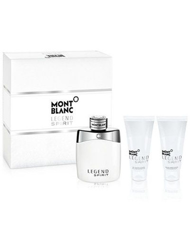 Mont Blanc Legend Spirit 3pcs Cologne Set For Men