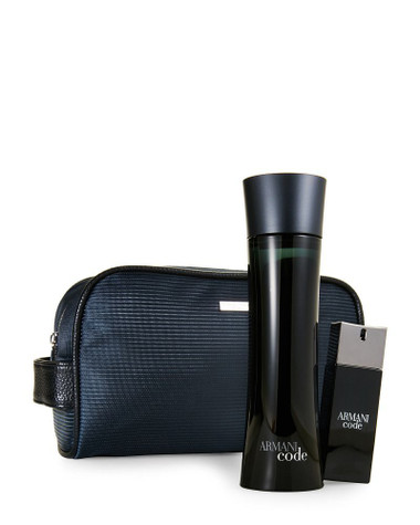 Armani Code 3pc Set With Bag For Men