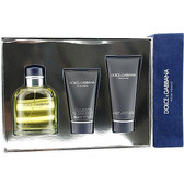 Dolce and Gabbana 3pc Cologne Set Men