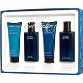 Cool Water by Davidoff 4pc 2.5oz Cologne Set Men