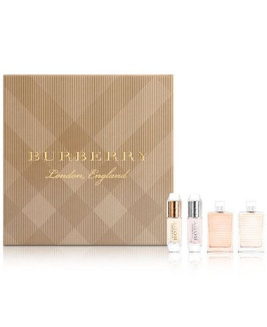 Burberry Set 4pc Mini Set Women