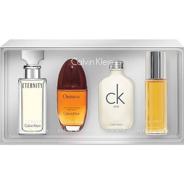 Calvin Klein Men 4pcs Mini Cofferet Set