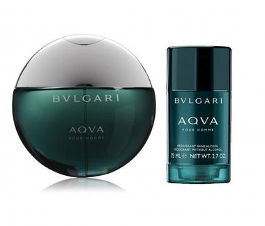 Aqva by Bvlgari 2pc Set With Deodrant