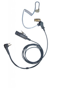 Kenwood KHS-8BL 2-Wire Surveillance Kit Earpiece [KHS-8BL TWD]