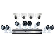 Uniden Guardian G71684D3 3TB DVR (8 Bullet & 4 Dome Cameras) Wired Video Surveillance System