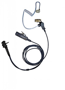 Heavy Duty Vertex 2-Wire Surveillance Kit Earpiece [VX231 VX354 VX451 VX454 VX459 EVX531 EVX534 EVX539]
