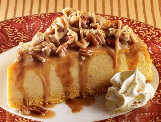 Pumpkin Praline Cheesecake - Taste It Presents