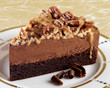 10 in. Caramel Pecan Fudge Cake (14 pre-cut slices)