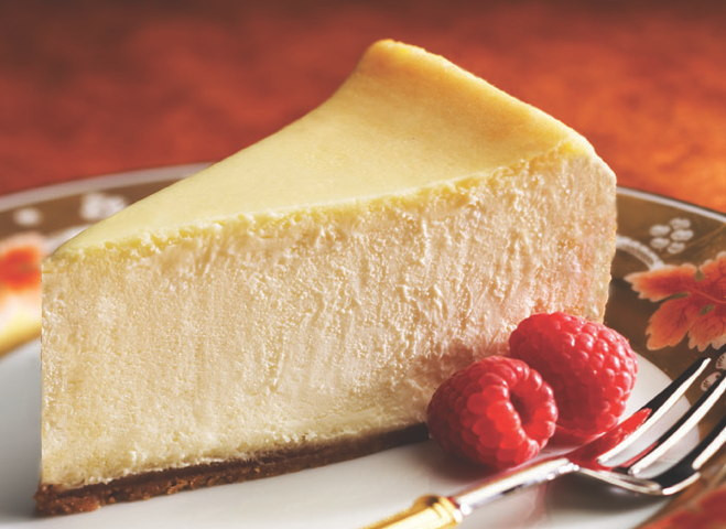 New York Cheesecake: 16 pre-cut - Taste It Presents