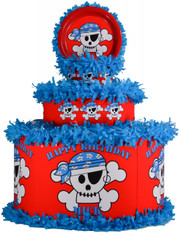 Pirate Skull Pinata