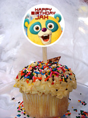 Special Agent Oso Cupcake Toppers