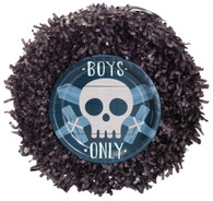 Skull boys only pinata